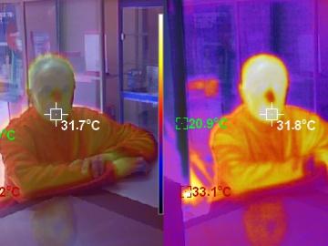Тепловизор в Сервисном Центре Всем ТВ обеспечивает эпидемиологический контроль посетителей