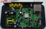 Цифровой эфирный ресивер GLOBO GL60 - материнская плата